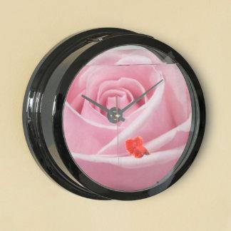 color de rosa rosado relojes aquavista