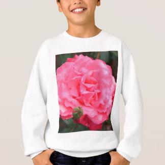Color de rosa rosado y rocío sudadera