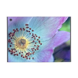 Color de rosa salvaje azul y púrpura iPad mini protector