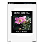 Color de rosa salvaje de Dakota del Norte