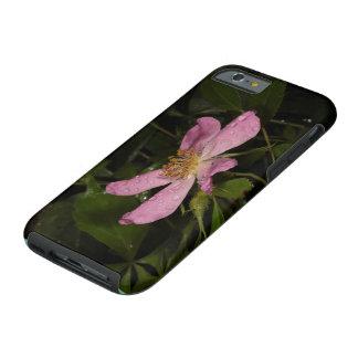 Color de rosa salvaje funda de iPhone 6 tough