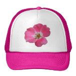 color de rosa salvaje rosado gorro