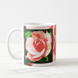 ¡Color de rosa - suavemente pastel! Taza