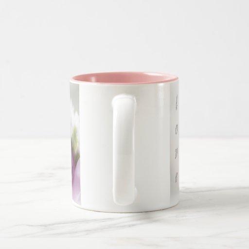 color de rosa taza de dos tonos