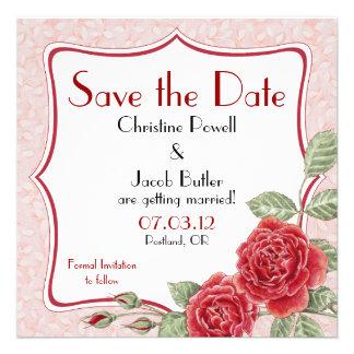 Color de rosa trepador - ahorre la fecha comunicado