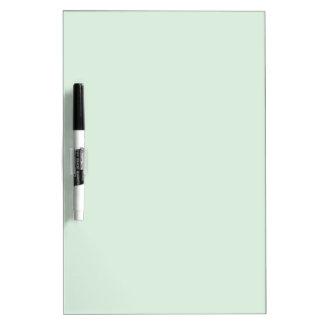 Color de verde menta pizarra blanca