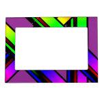 color del arco iris marcos magneticos de fotos