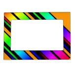 color del arco iris marcos magneticos para fotos