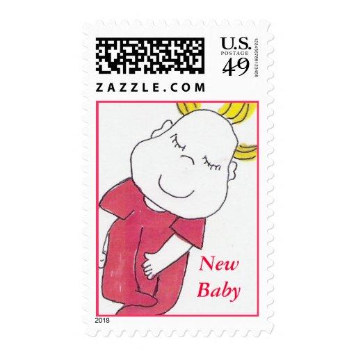 color del bebé, nuevo sello del bebé