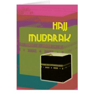 color del bloque del mubarakah del jadye tarjeta de felicitación