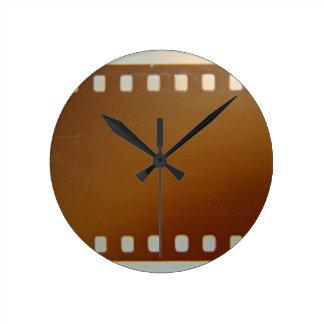 Color del carrete de película relojes