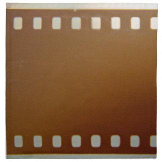 Color del carrete de película servilleta