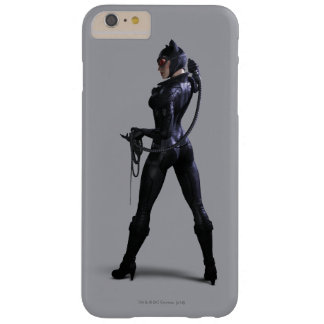 Color del Catwoman Funda Barely There iPhone 6 Plus