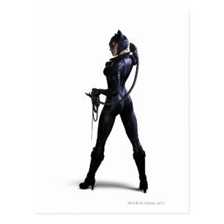 Color del Catwoman Tarjetas Postales