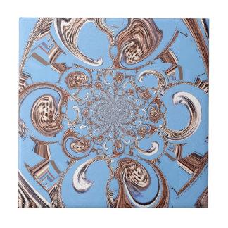 Color del cielo del regalo de Hakuna Matata del sa Azulejo Cuadrado Pequeño