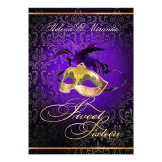 ¡Color del dulce 16 Masquerade/DIY de PixDezines Anuncio