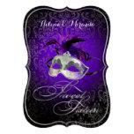 ¡Color del dulce 16 Masquerade/DIY de PixDezines R Invitacion Personal