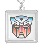 Color del escudo de G1 Autobot Pendientes Personalizados