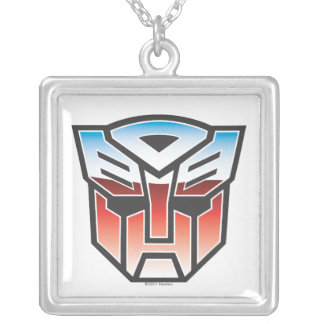 Color del escudo de G1 Autobot Collar Plateado