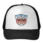 Color del escudo de G1 Autobot Gorras