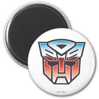 Color del escudo de G1 Autobot Imán Redondo 5 Cm