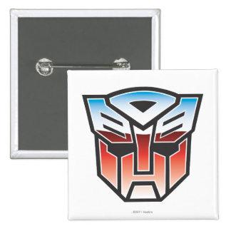 Color del escudo de G1 Autobot Pins