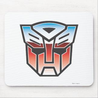 Color del escudo de G1 Autobot Tapete De Ratones