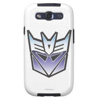 Color del escudo de G1 Decepticon Galaxy S3 Carcasa
