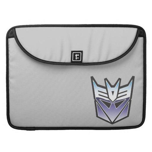 Color del escudo de G1 Decepticon Funda Macbook Pro