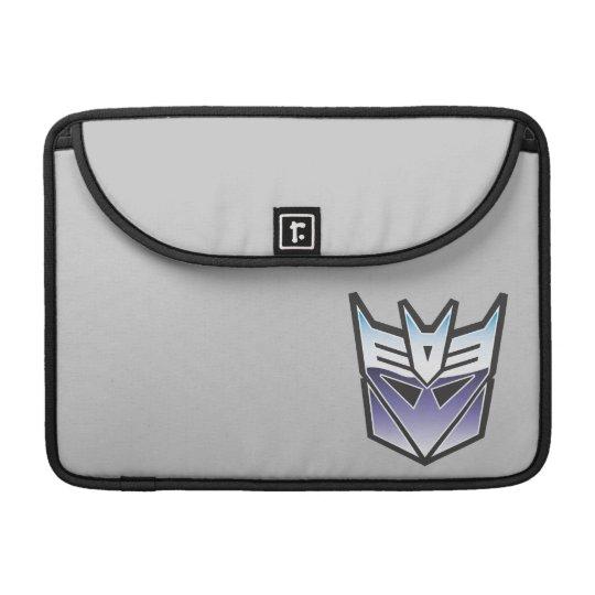 Color del escudo de G1 Decepticon Fundas Macbook Pro
