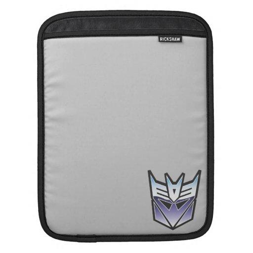 Color del escudo de G1 Decepticon Mangas De iPad