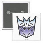 Color del escudo de G1 Decepticon Pins
