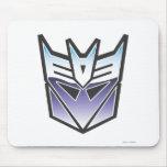 Color del escudo de G1 Decepticon Alfombrilla De Raton