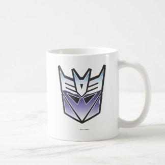 Color del escudo de G1 Decepticon Taza De Café