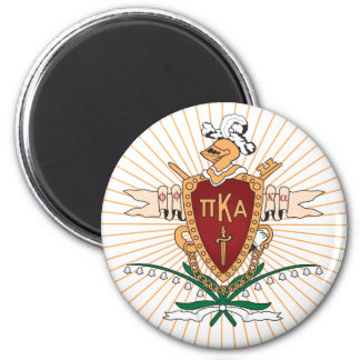 Color del escudo de PKA Imán Redondo 5 Cm