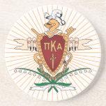 Color del escudo de PKA Posavasos Para Bebidas