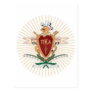 Color del escudo de PKA Postales
