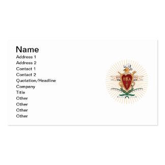Color del escudo de PKA Tarjetas Personales