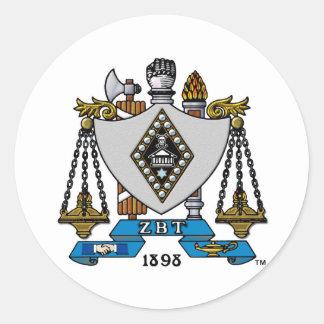 Color del escudo de ZBT Pegatinas