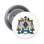 Color del escudo de ZBT Pin Redondo 5 Cm