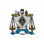 Color del escudo de ZBT Tarjetas Postales
