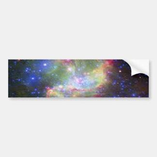 color del espacio etiqueta de parachoque
