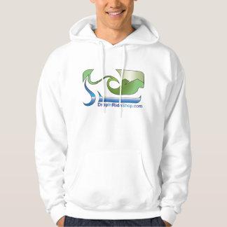 Color del logotipo de la sudadera con capucha de
