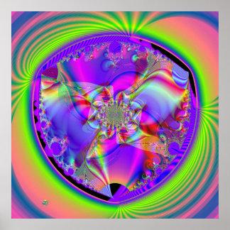 Color del mezclador impresiones