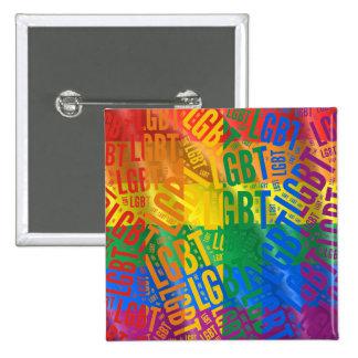 COLOR DEL MODELO DE LA PALABRA DE LGBT - .PNG PIN