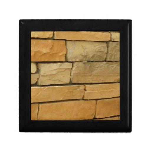color del naranja de la capa de la pared del bloqu caja de recuerdo