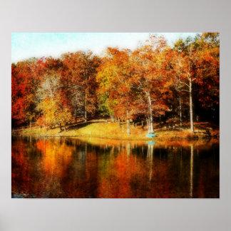 Color del otoño posters
