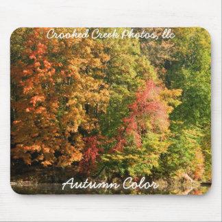 Color del otoño tapete de ratones