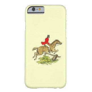 Color del personalizado del montar a caballo del funda de iPhone 6 slim
