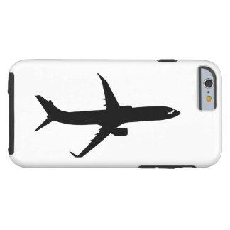 Color del personalizar del vuelo de la sombra del funda para iPhone 6 tough